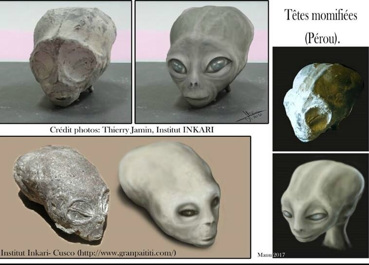 Manu Alteirac alien Project