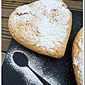 Gâteau de savoie de madeleine