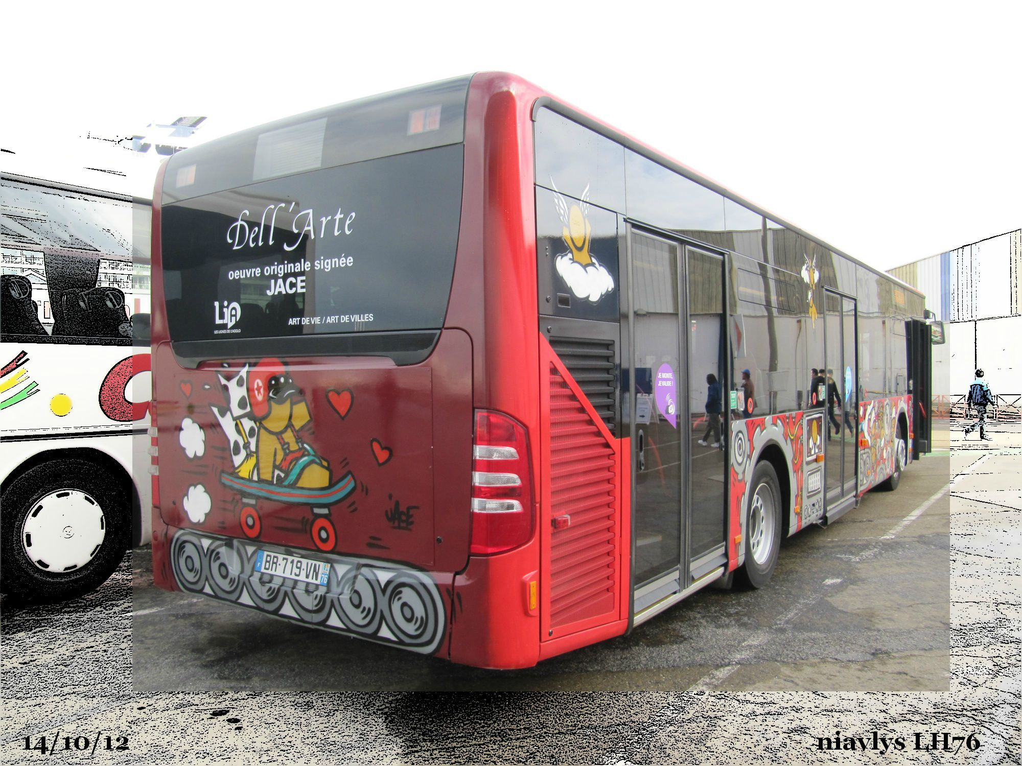 Bus Dell'arte JACE 3