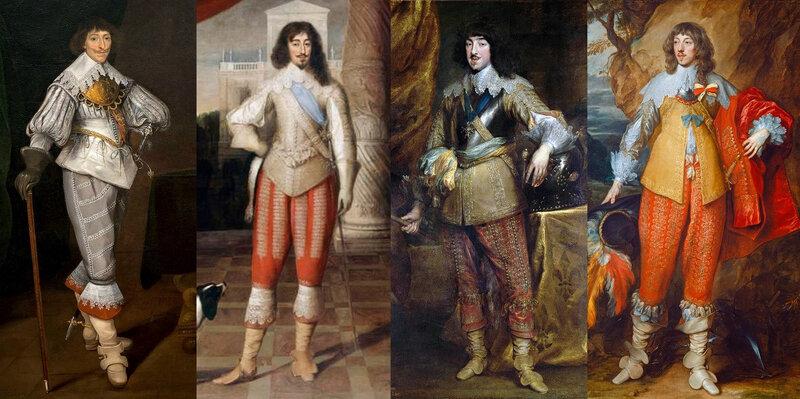 Portraits francais, 1630-1635