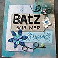 Mini album vacances destructuré