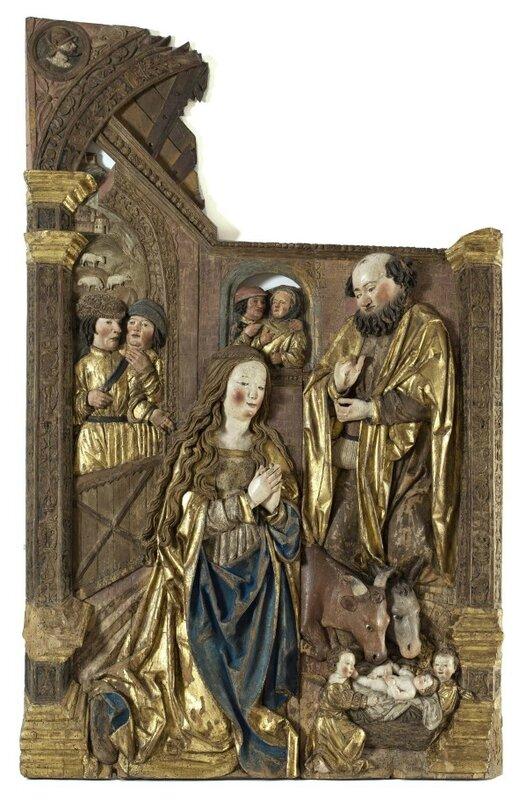 La nativité, Atelier de Niclaus Weckmann, vers 1520-1525