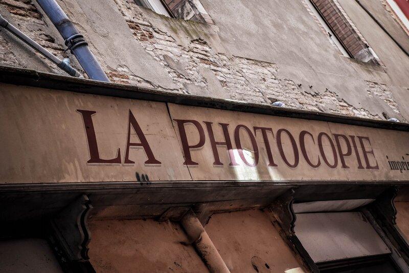 Ancienne devanture de boutique
