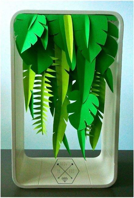Une cascade végétale