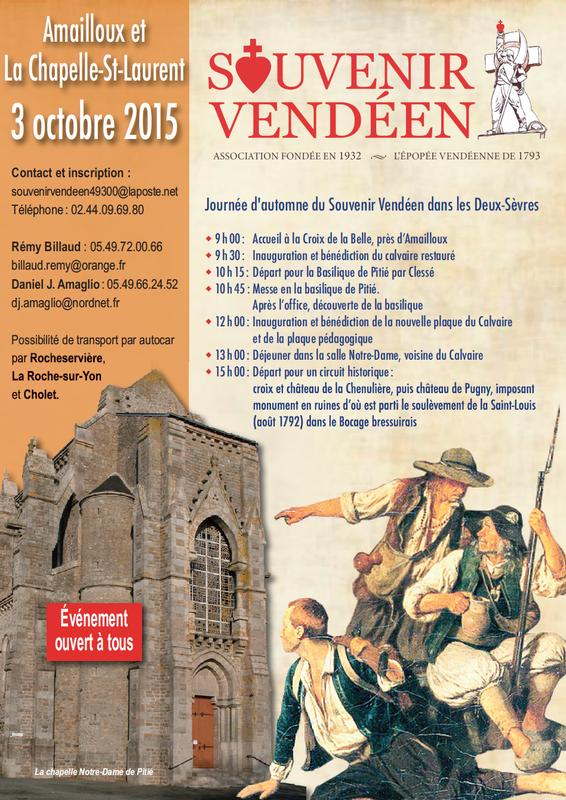 Souvenir Vendeen Amailloux La Chapelle-Saint-Laurent