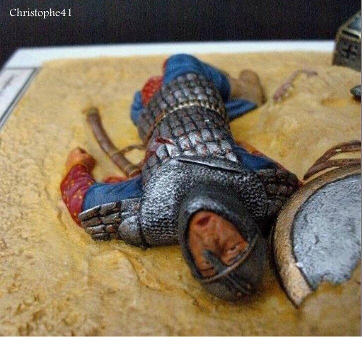Templier bataille de Mansourah 1250 - PICT4669