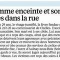 Chelles : un couple agressé en pleine rue !