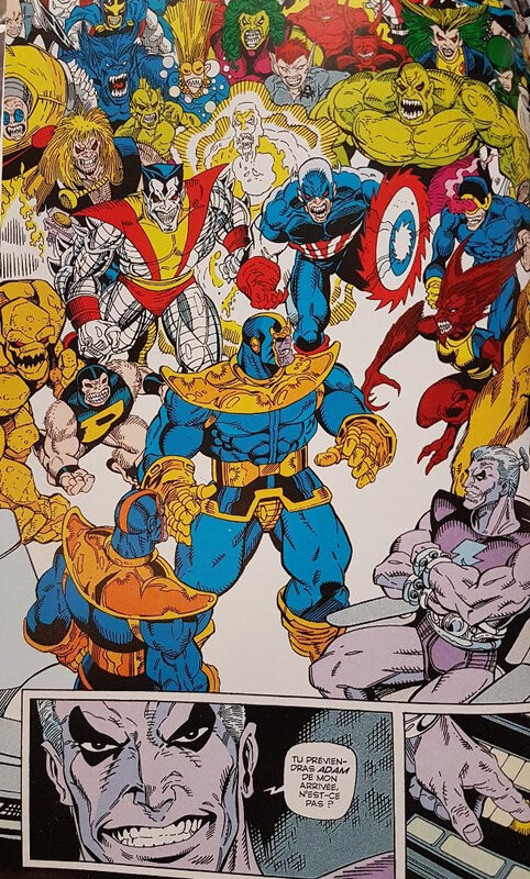 graphic novel thanos la guerre de l'infini