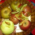 Beurre de pommes à l'érable