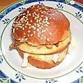 Pains a hamburger maison