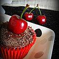 « forêt noire » cupcakes