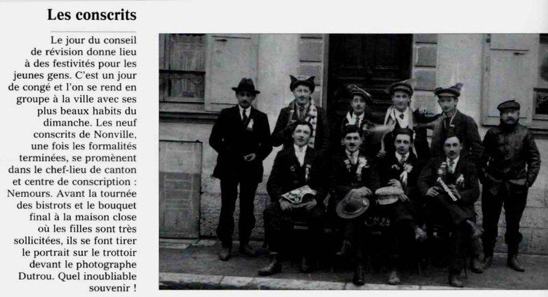 Les conscrits 1913