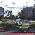 Rond-point à cerritos (californie)