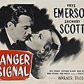 Danger signal. robert florey