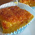 Gâteau orange et amande