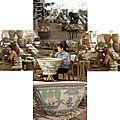 Travail de la poterie vietnamienne