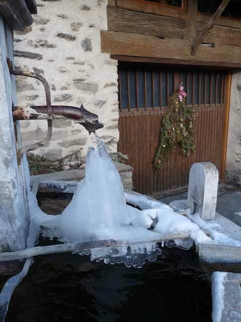 Fontaine à Saint Véran