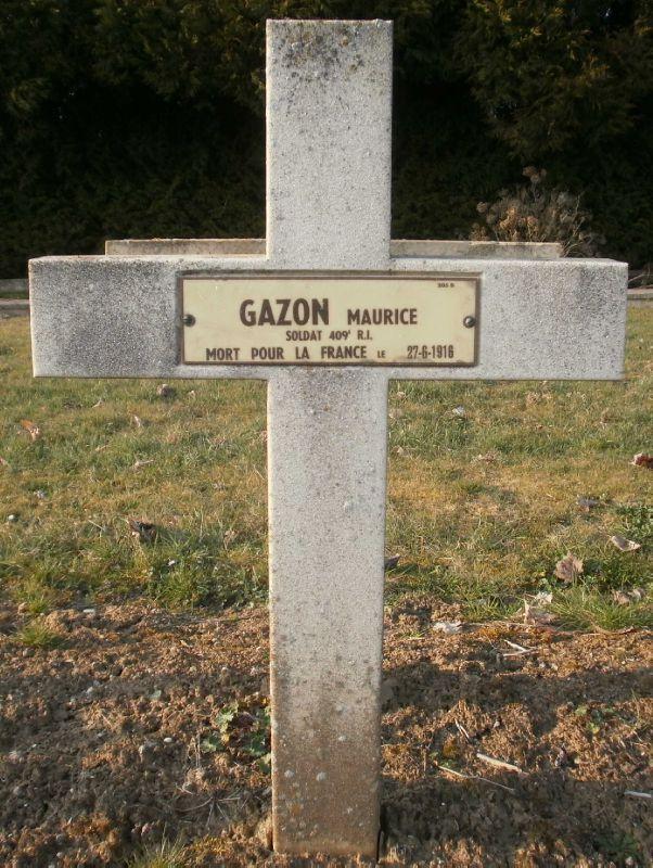 GAZON Maurice