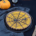 Halloween pumpkin pie #vegan