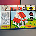 Mako bric, un jeu de construction des années 60 ! encore un concurrent du géant lego ! la boîte n°3...