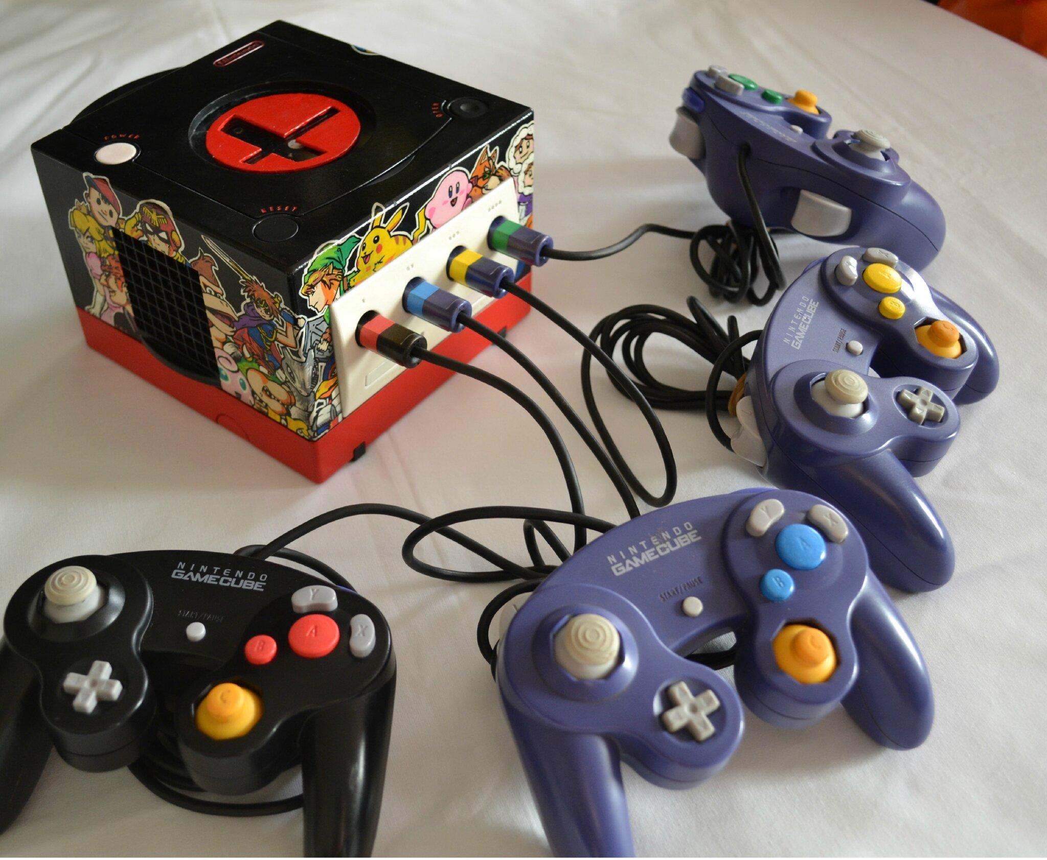 Custom Supersmashbros Nintendo Gamecube Controller By
