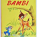 Livres anciens ... bambi (1969) * walt disney