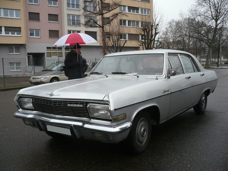 OPEL Admiral A 2800 Strasbourg - Rétrorencard (1)