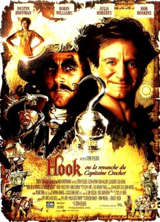 HOOK-ou-la-revanche-du-capitaine-Crochet-Affiche-du-film