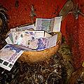 Talisman magnetique de billets