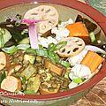 Crudites-lentilles-saucises au tofu