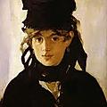 Une peintre parmi les impressionnistes : berthe morisot