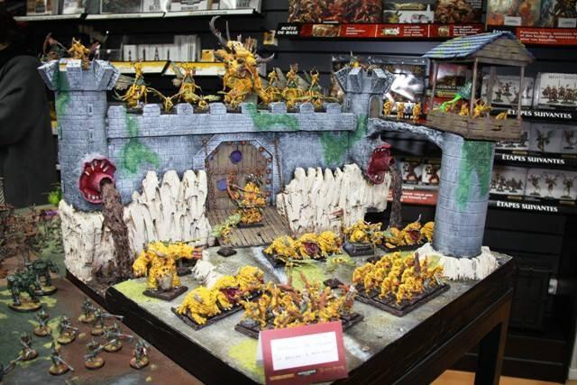 Démons de Nurgle jaune