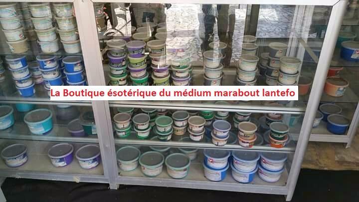 savons magiques dans la boutique ésotérique du maitre marabout lantefo