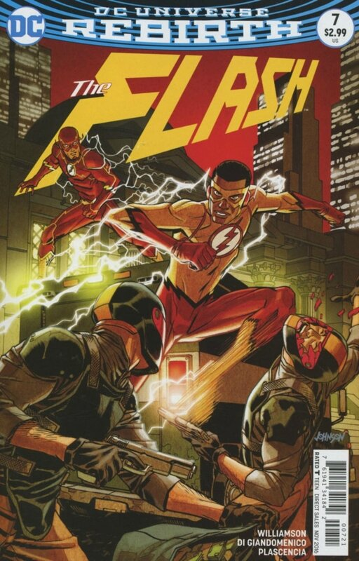 rebirth flash 07 variant