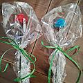 Fleurs en pate à sucre : cadeau maitresse maternelle + atsem