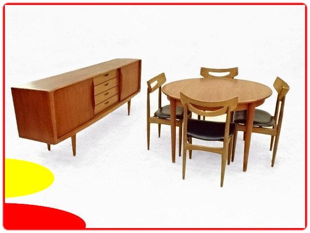 Enfilade Klein table chaises Samcom teck
