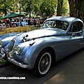Jaguar xk120 coupé de 1953 (37ème internationales oldtimer meeting de baden-baden)