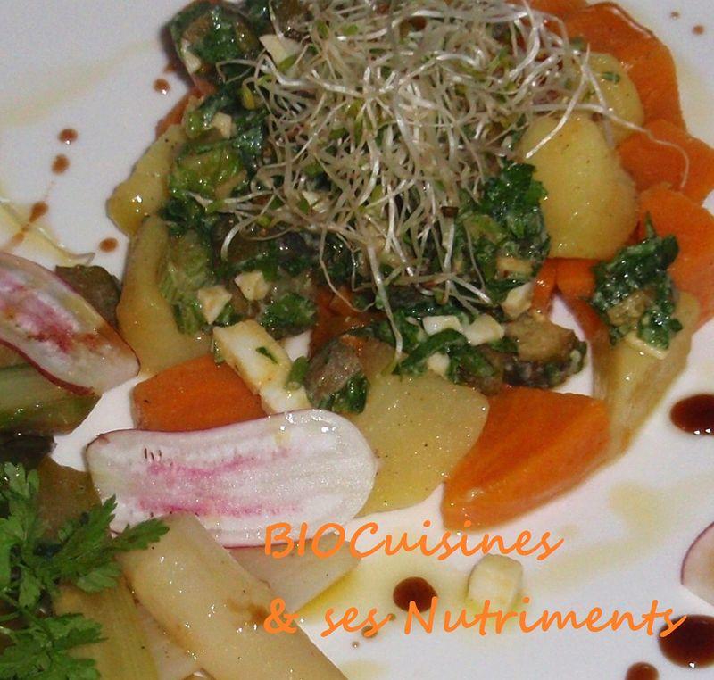 patates blanches et douces