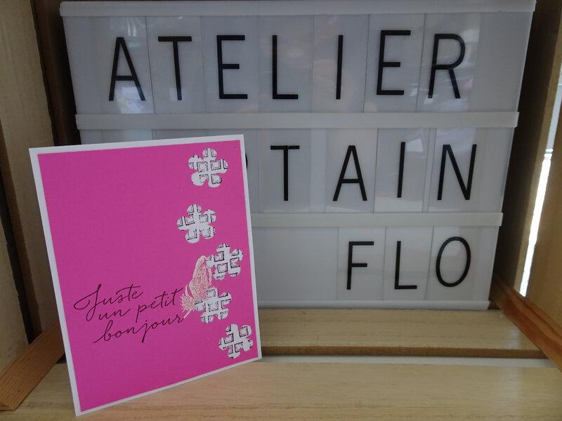 6a Carte Petites fleurs