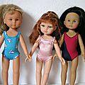 Nouvelles robes pour poupée de 33 à 50 cm