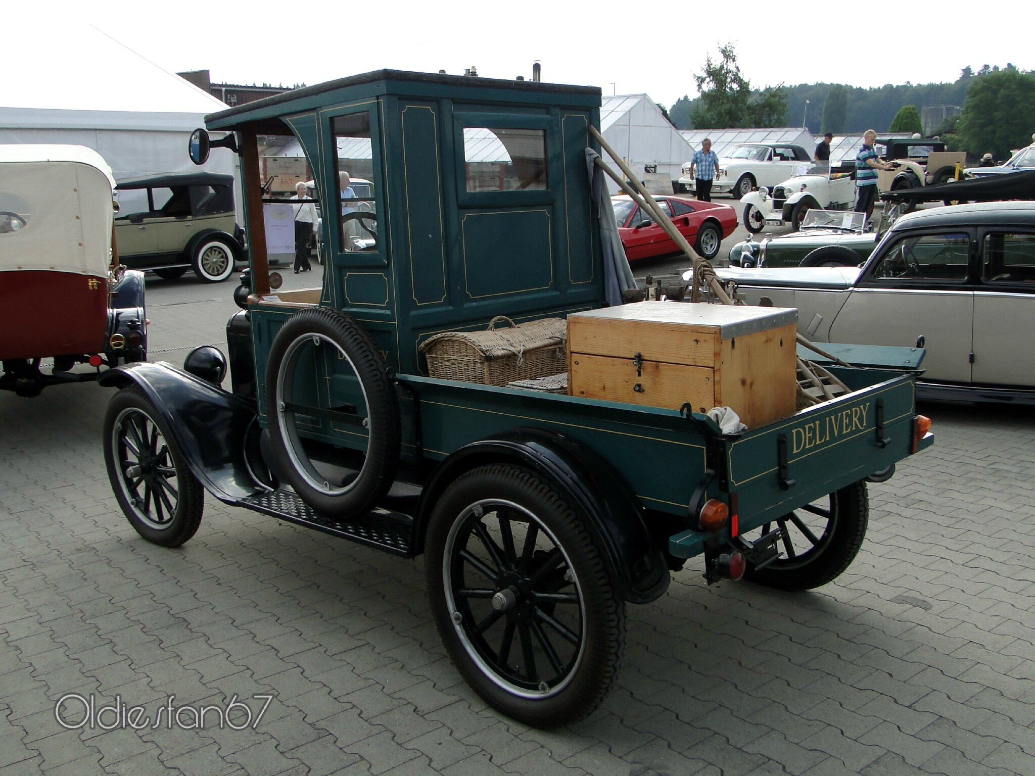"Ford model T pickup-1920 - Oldiesfan67 ""Mon blog auto"""
