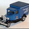 Ford model a van ...