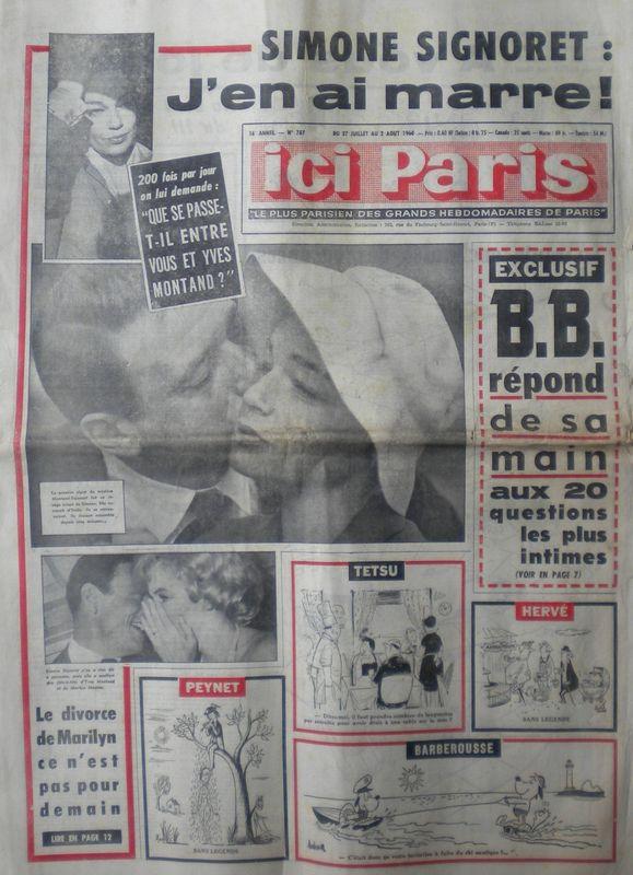 ici Paris 1960