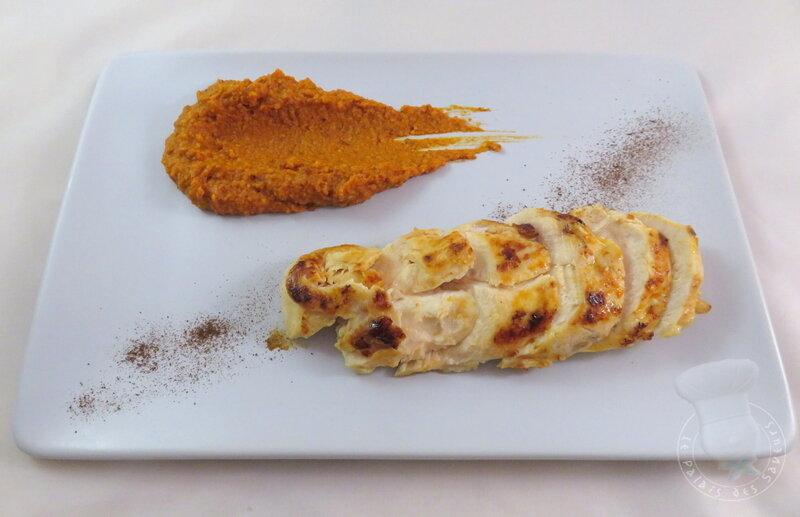Poulet_grill___sauce_aigre_douce_au_pain_d__pices