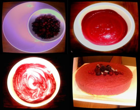 bavarois fruits rouges
