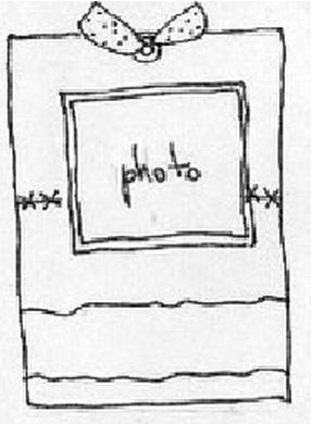 sketch tag oct avec une pendule