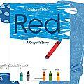 Red a crayon's story, séquence pour la rentrée : révision des couleurs et du matériel scolaire, cycle 3