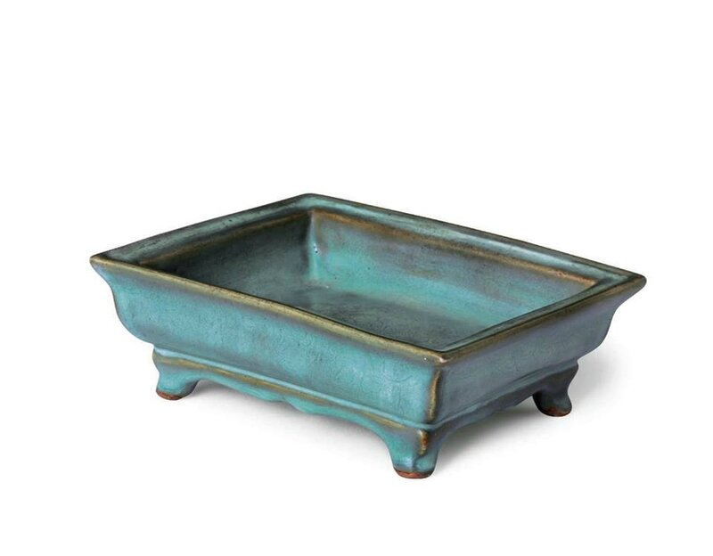 An extremely rare 'Number Ten' rectangular jardinière, Yuan-Early Ming dynasty, 14th-15th century