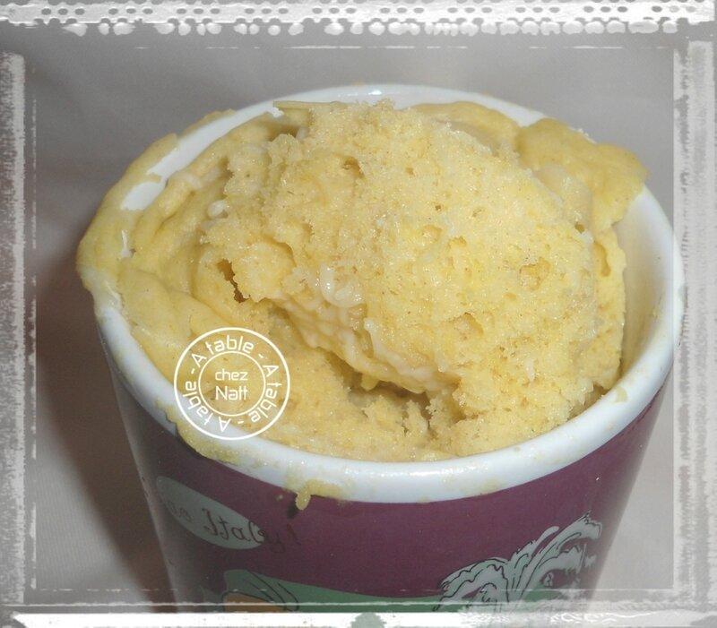 mug cake moutarde gruyère 2