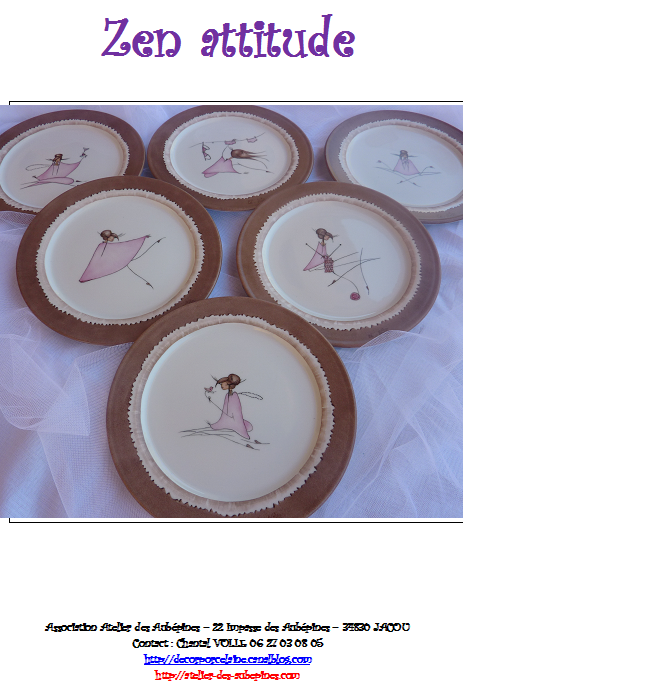 FICHE 13 : Zen attitude